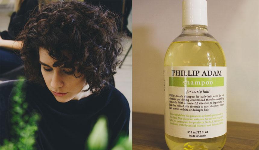 Philip Adam Curly Hair Shampoo