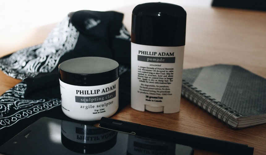 Phillip Adam Pomade and Sculpting Clay