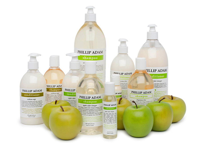 all natural phillip adam hair care line