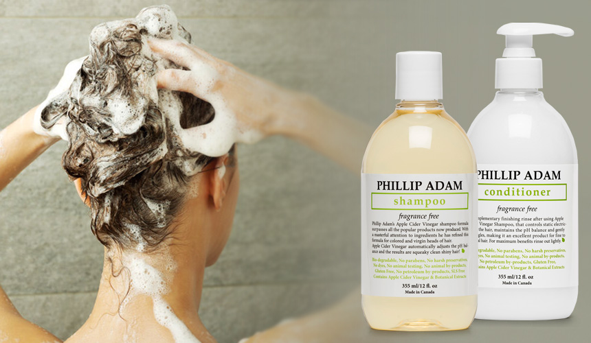 Unscented Hair Care Products