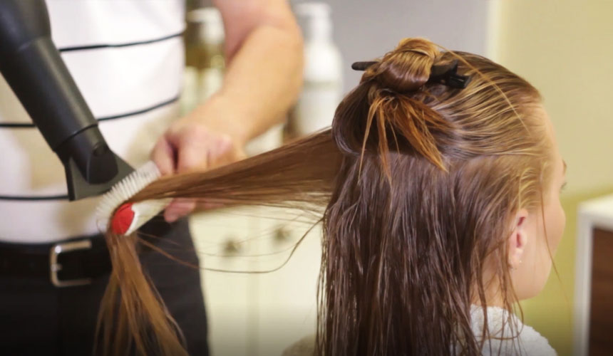How often should you blow dry your hair