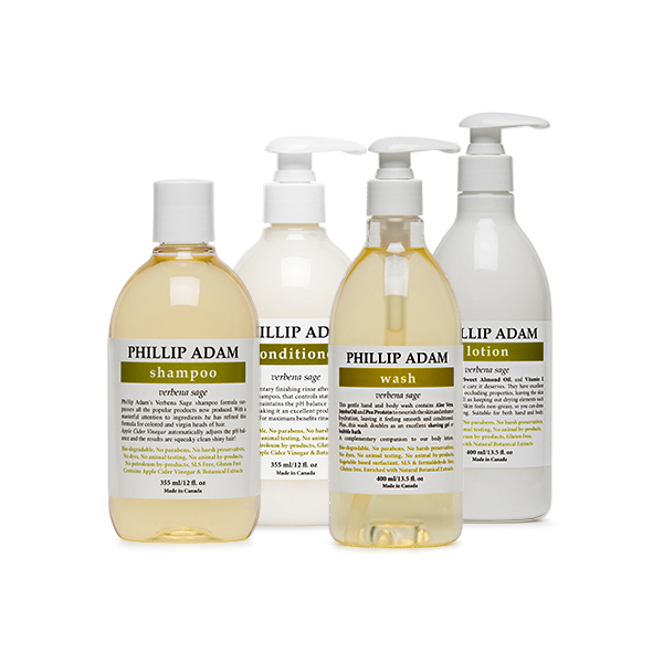 Hair and Body Care Verbena Sage Collection