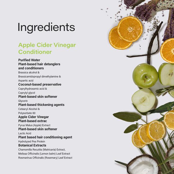 Phillip Adam apple cider vinegar conditioner natural ingredients