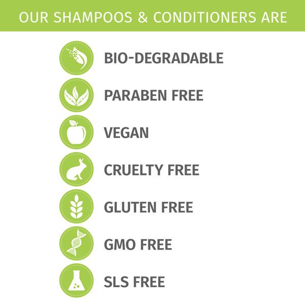Phillip Adam sls free shampoos and conditioners
