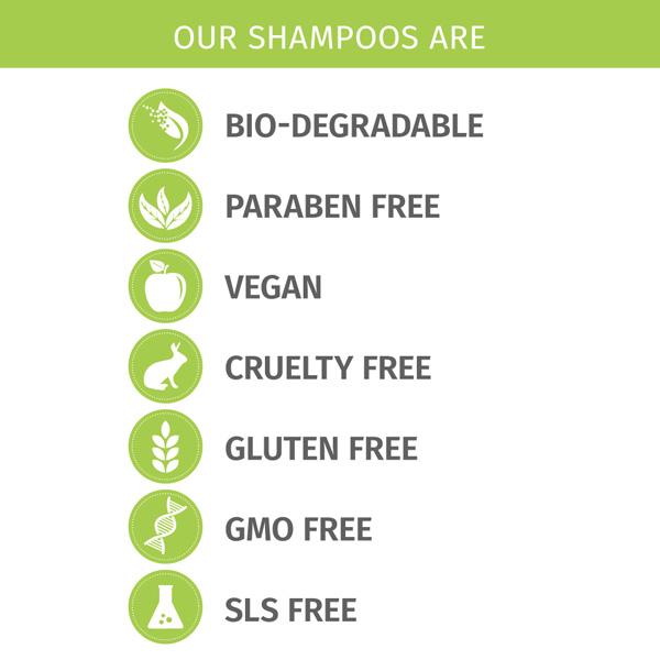 Phillip Adam sls free shampoos
