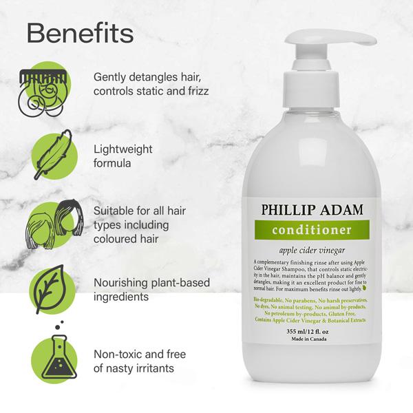 benefits of Phillip Adam apple cider vinegar conditioner