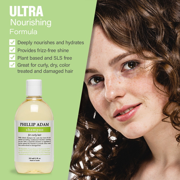benefits of Phillip Adam Curly hair shampoo