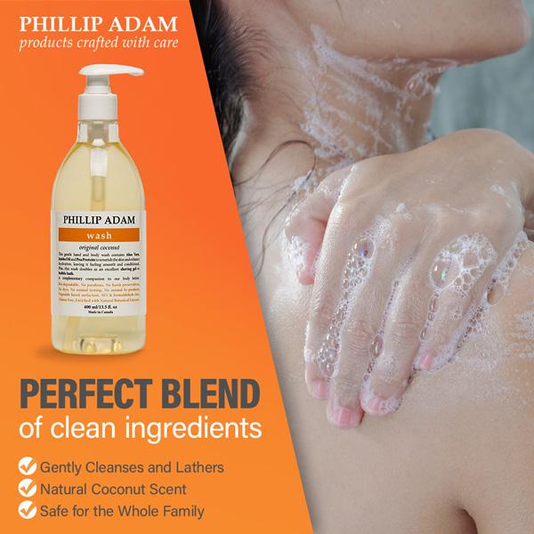 benefits of Phillip Adam Coconut wash