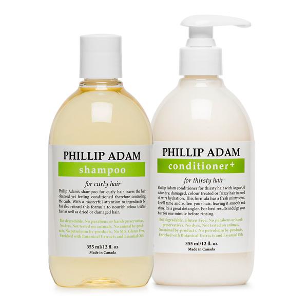 Phillip Adam Curly Hair Duo